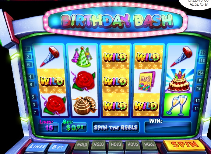 Birthday Bash slots machine