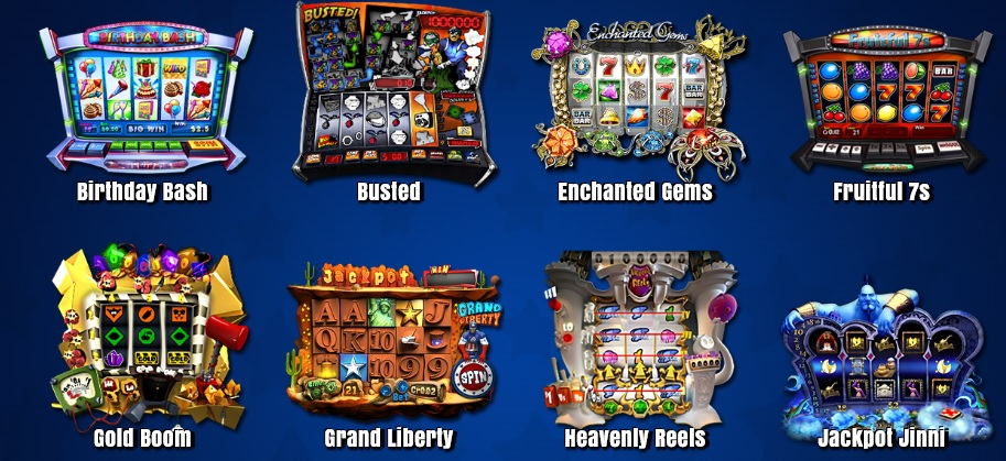 selections of slots games at freeslot